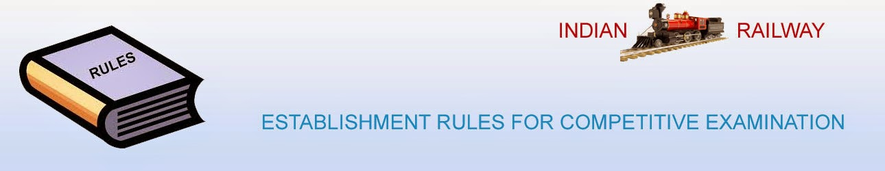 ESTABLISHMENT RULES FOR COMPETITIVE EXAMINATION