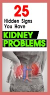 25 Hidden Signs You Have Kidney Problems !