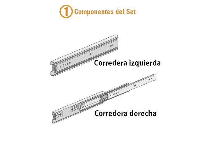 Bricolaje cajones tutorial instalar correderas - Railes para cajones ...