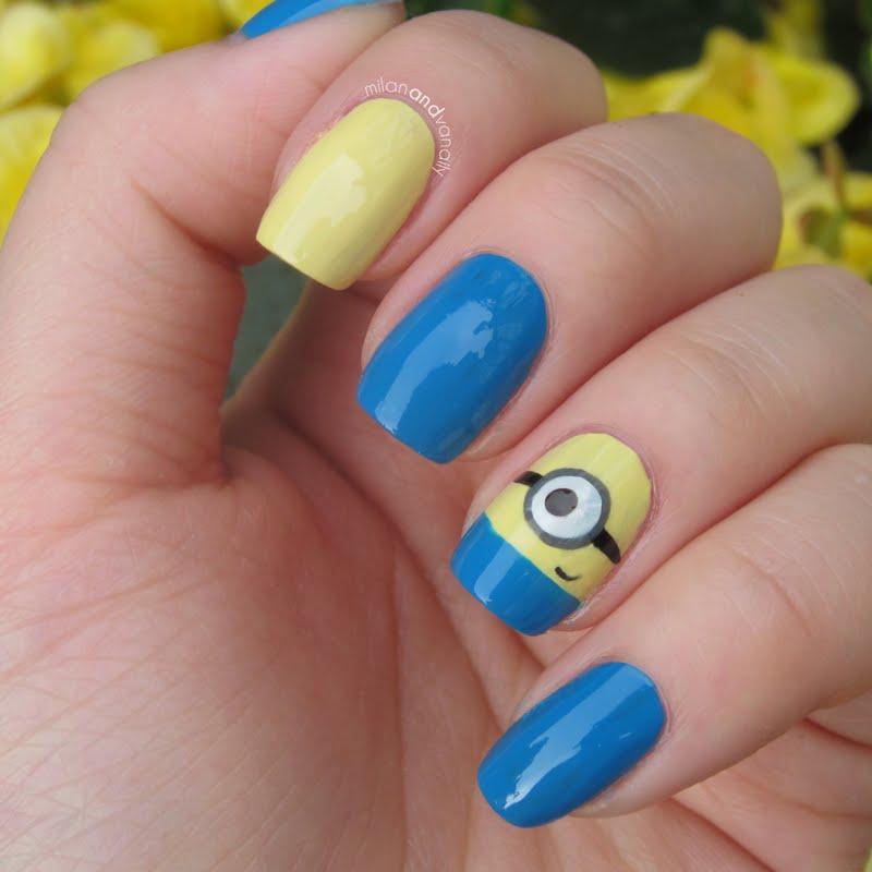 Nail Art Minions - Popular Nail Art