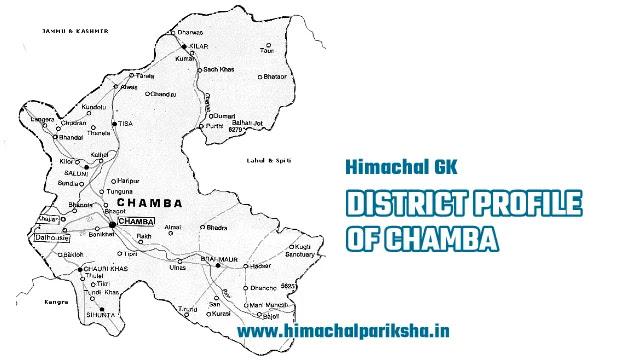 District Profile of Chamba District - Himachal GK - Himachal Pariksha