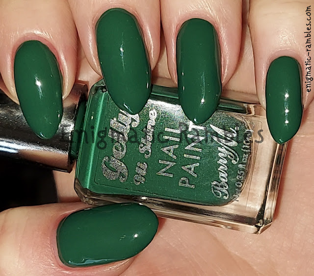 Nail Polish Swatch Barry M Jalapeno Summer 2021 Gelly