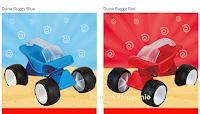 Logo Scegli il colore e vinci gratis il gioco da spiaggia Dune Buggy Hape