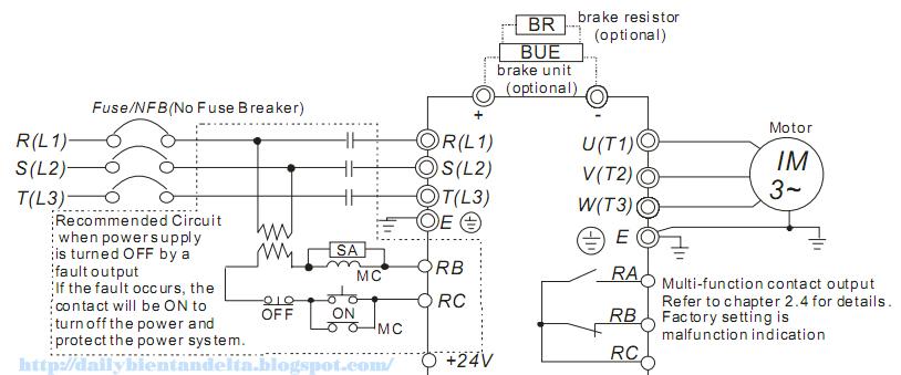Tài liệu lắp đặt đấu nối biến tần, lắp đặt điện trở xả cho biến tần bộ hãm độc lập. Cung cấp biến tần lắp đặt bộ hãm bên ngoài, bán PLC, AC Servo, màn hình HMI