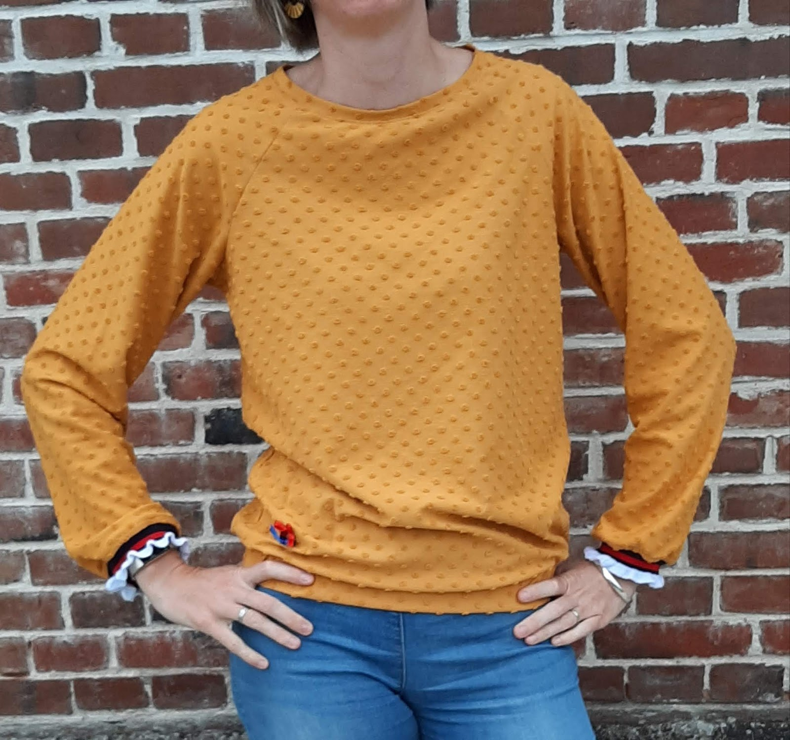 couture sweat femme