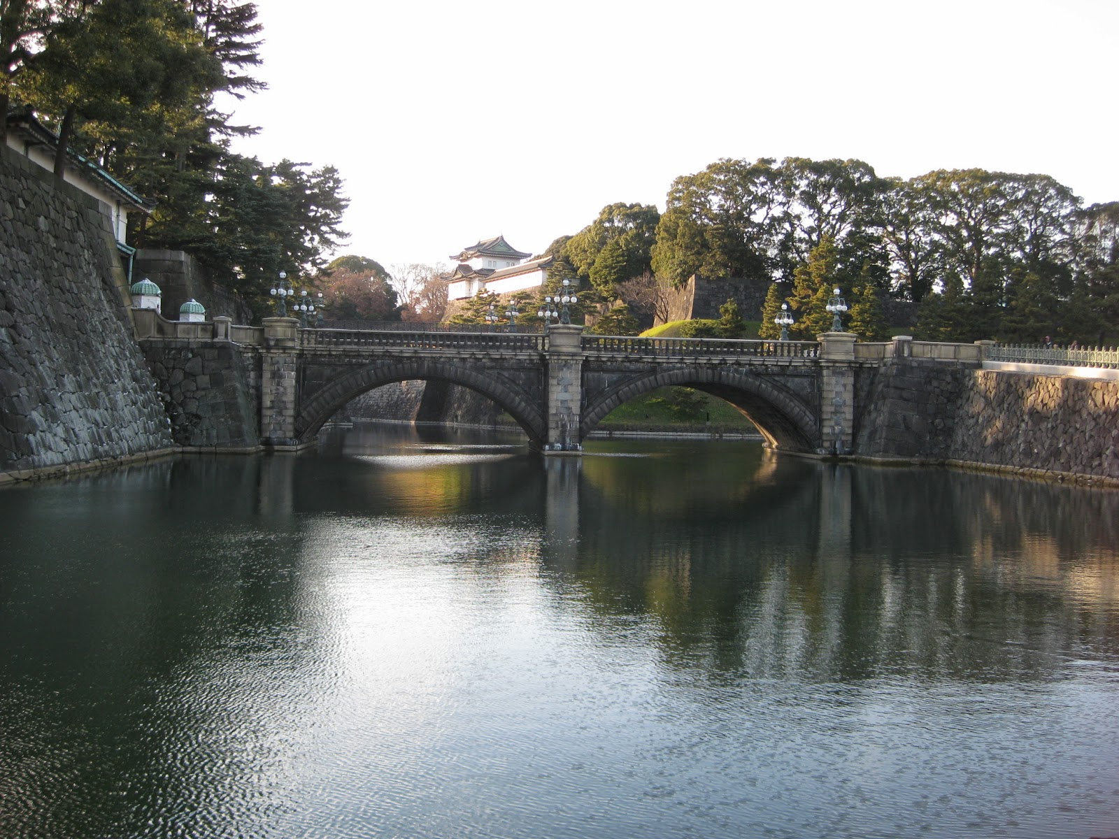 Tokyo - Imperial Palace moat