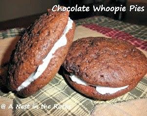Chocolate Whoopie Pies, last weeks most viewed post!