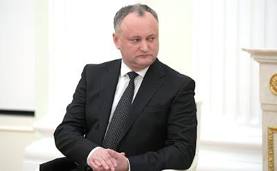 Igor Dodon, President of Moldova.