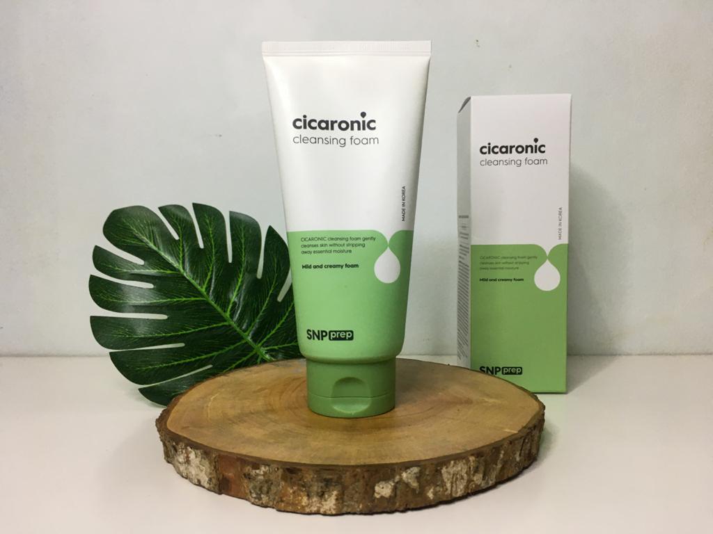 korean skincare cleansing foam product