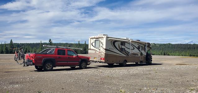 Quick Rest stop off Alaska Highway