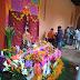 Altares de muertos en el Centro de Textiles del Mundo Maya
