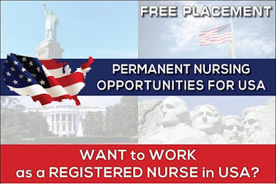 PERMANENT NURSING OPPORTUNITIES FOR USA.