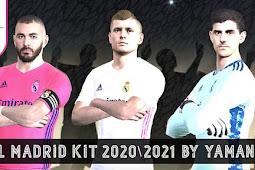 Update Real Madrid Kits 2020/21 - PES 2017