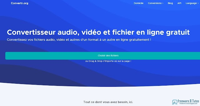 Convertr : un bel outil de conversion de fichiers (audio, vidéo, images) à essayer absolument