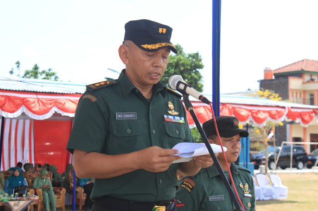 Letkol Inf Eko Juniarto Bacakan Amanat Pangdam IV Diponegoro