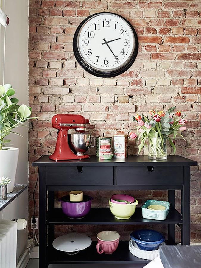 rincón cocina-comedor piso pequeño