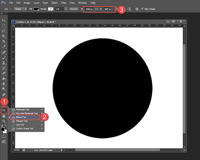 Cara Membuat Tulisan Atau Teks Melingkar Melengkung Di Photoshop