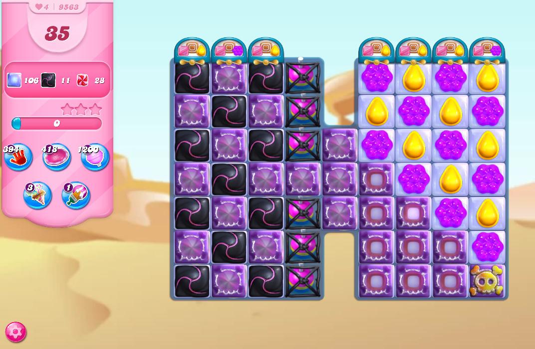 Candy Crush Saga level 9563