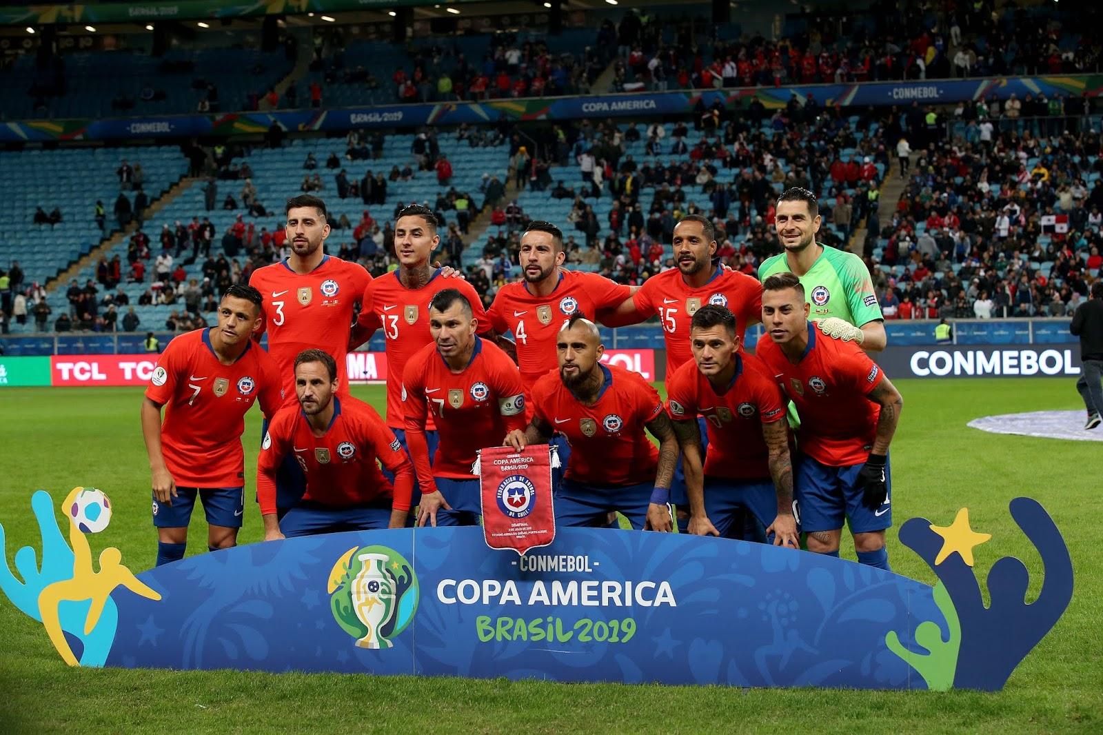 Formación de Chile ante Perú, Copa América 2019, 3 de julio