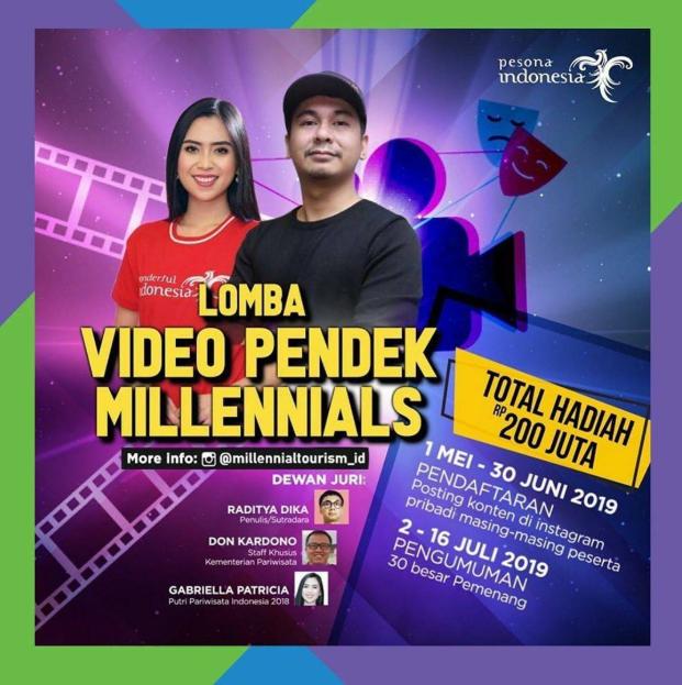Lomba Video Pendek Nasional Kementrian, Hadiah 200 Juta!!!