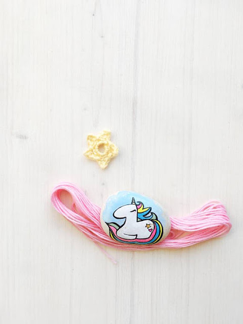 unicorn rocks on etsy