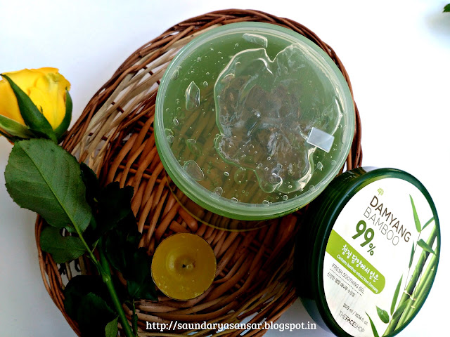 The Face Shop Demyang Bamboo 99% Fresh Soothing Gel Review