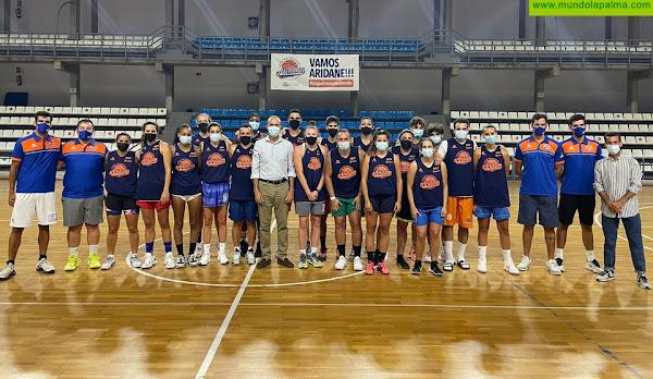 El Club Baloncesto Aridane arranca temporada con el apoyo del Ayuntamiento y el Cabildo Insular de La Palma