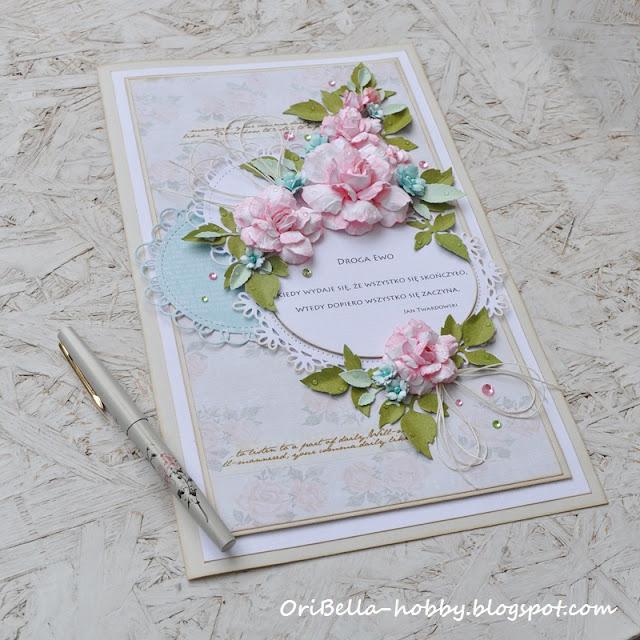 ręcznie robione kwiaty z papieru