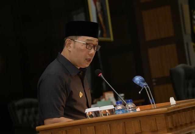 Ridwan Kamil : Enam Prinsip Penyusunan Raperda Perubahan APBD TA 2020
