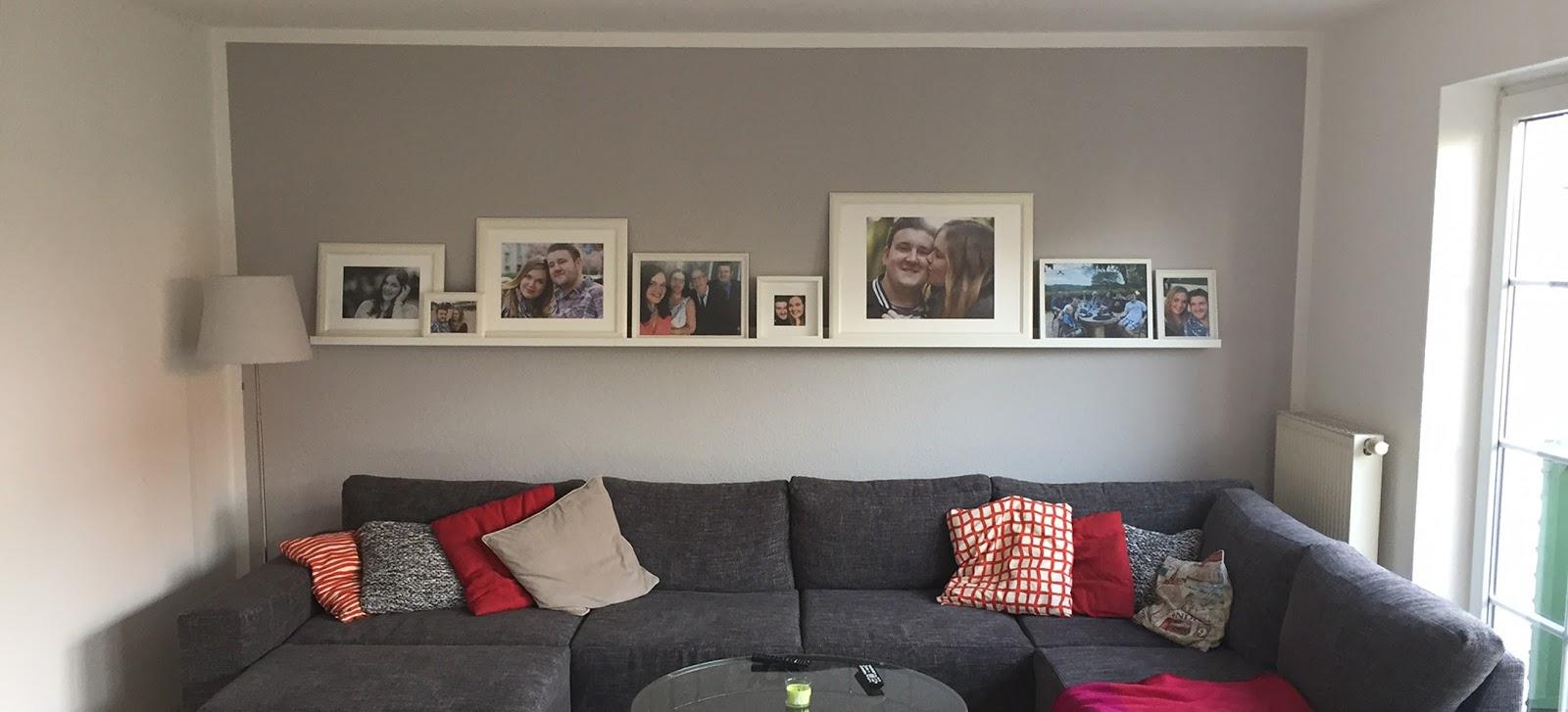 Stimmungsvolles Wohnzimmer - Mit der Farbe Grau einen Trend ...