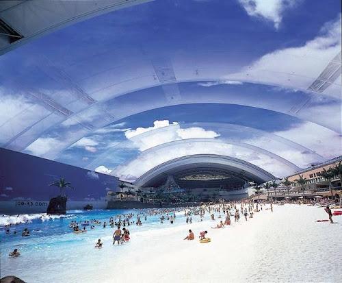 maior piscina coberta do mundo