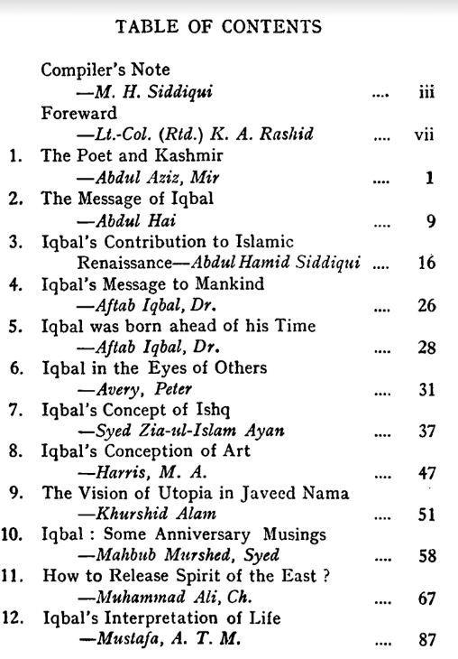 iqbal poetry english book
