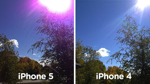 iPhone 5 Vs. iPhone 4s camera