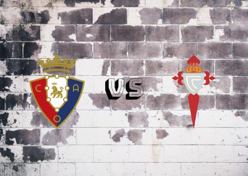 Osasuna vs Celta de Vigo  Resumen