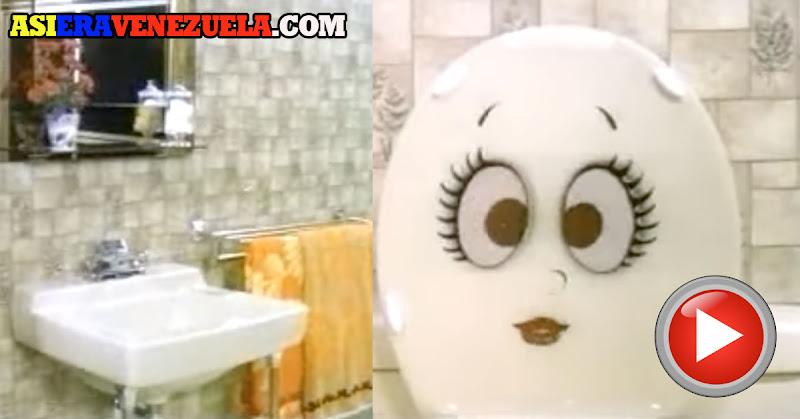 Limpiador de Pocetas MAS -  Propaganda de Venezuela de los años 70