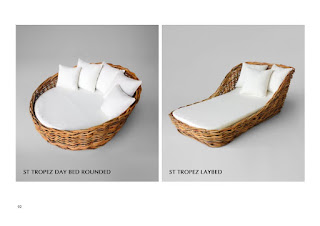 Daybed rattan furniture wholesale, natural rattan furniture, furniture wicker