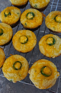 Jalapeño Cheddar Parmesan Cornbread Muffins: Savory Sweet and Satisfying