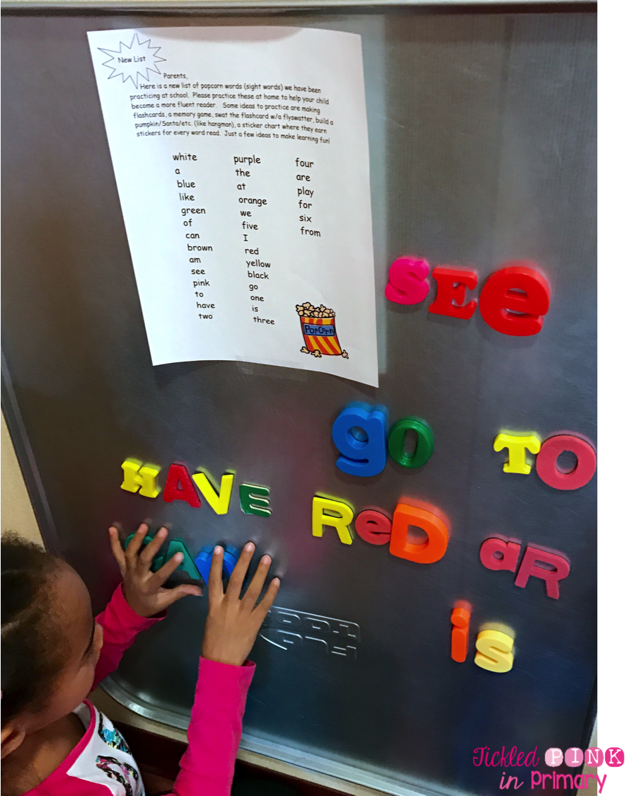 Tickled Pink In Primary 10 More Ways To Practice Sight Words