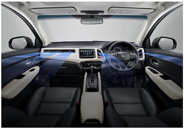 Interior Honda New HR-V 2020