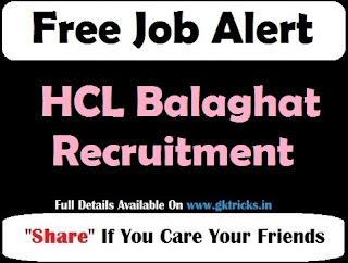 HCL Balaghat Recruitment