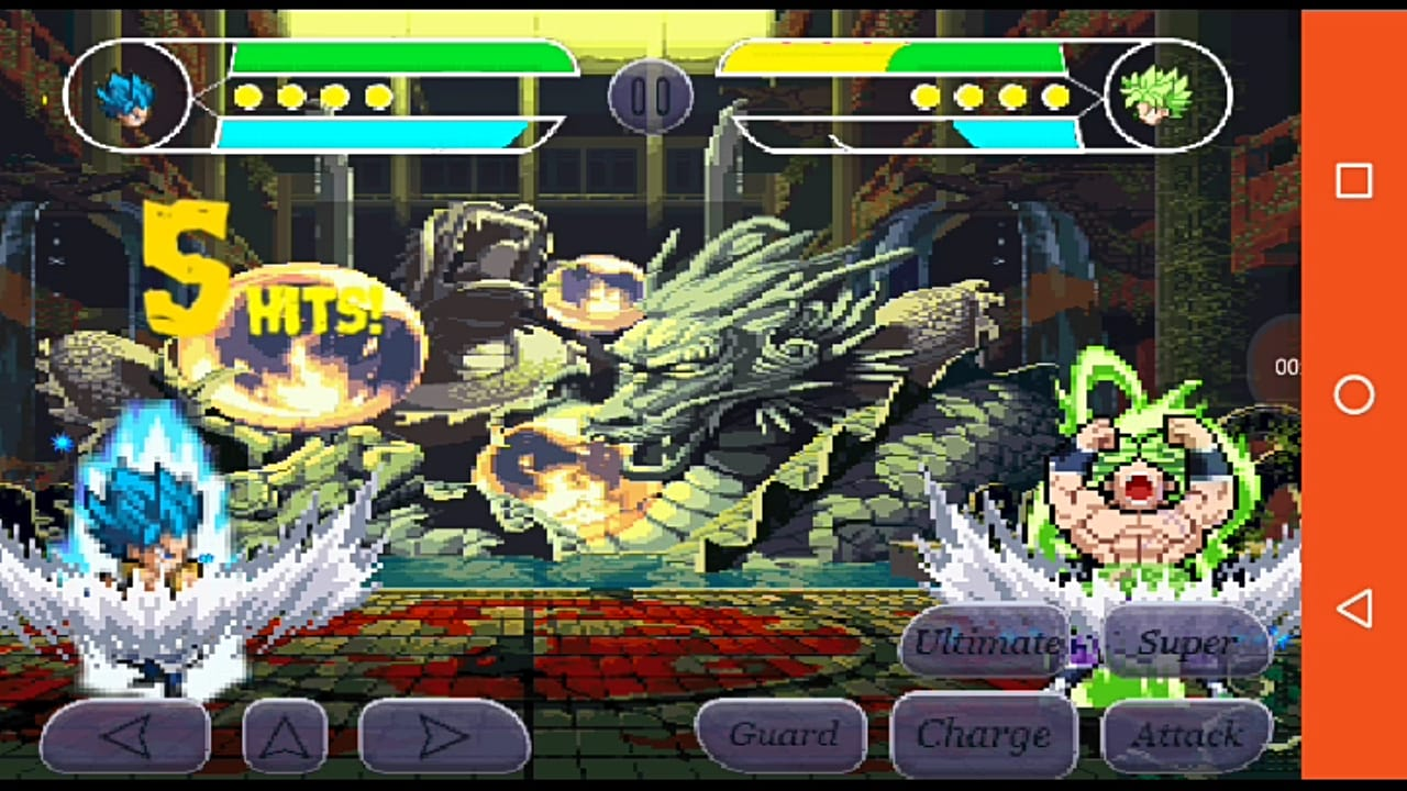 Dragon Ball z Mugen style APK for android download
