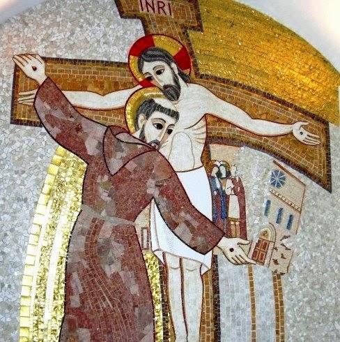 Risultati immagini per san francesco d'assisi e il crocifisso