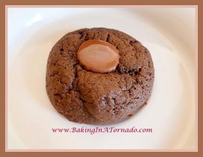 Peanut Butter Cup Cookies | Recipe developed by www.BakingInATornado.com