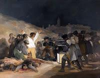03 de maio de 1808 - Goya - Pinturas famosas sem seus personagens