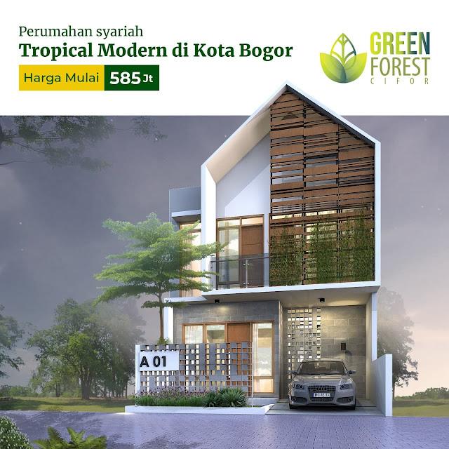 Green Forest Cifor Perumahan Syariah kota Bogor Dekat Kampus IPB