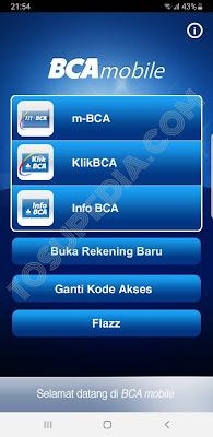 Cara Isi Saldo Aplikasi DANA Menggunakan Transfer Bank (BCA Mobile)