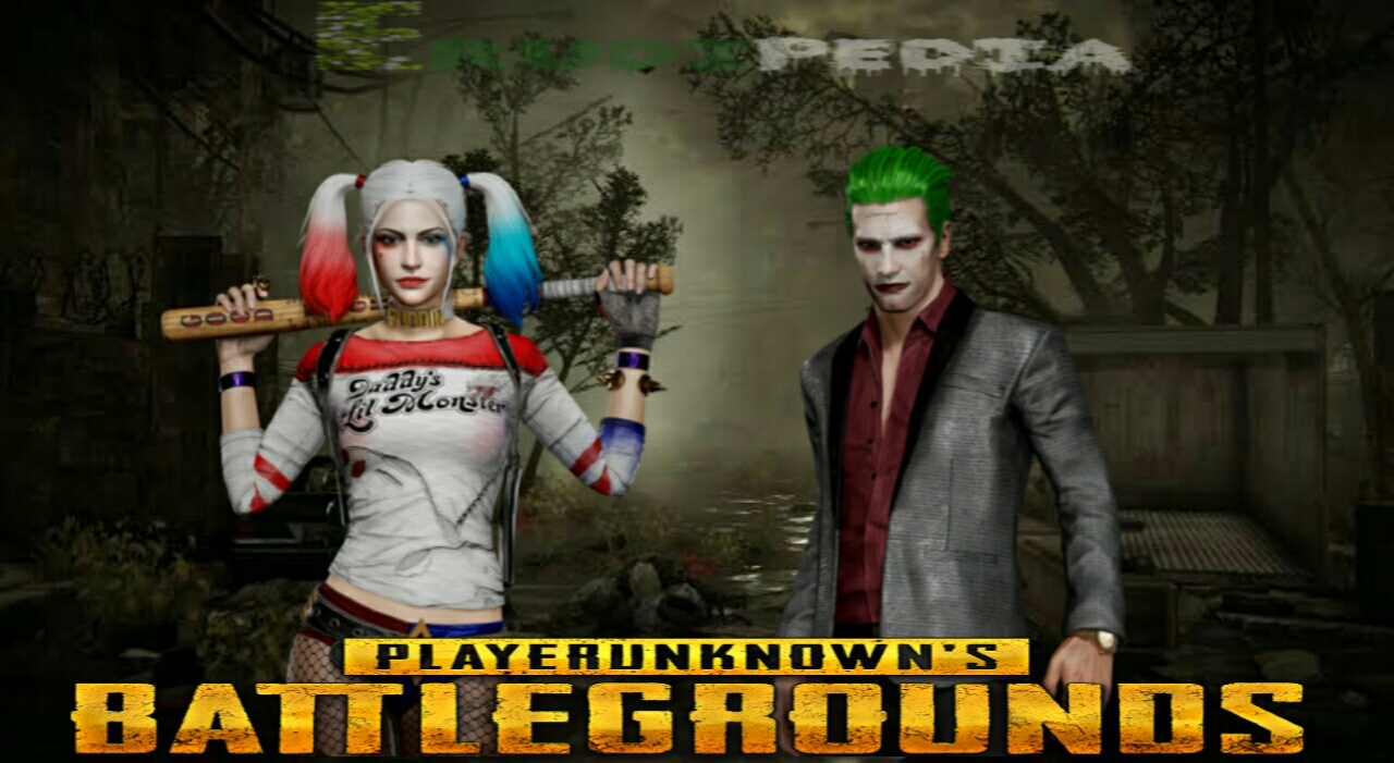 Players Unknowns Battlegrounds pubg harley and jokes outfits price