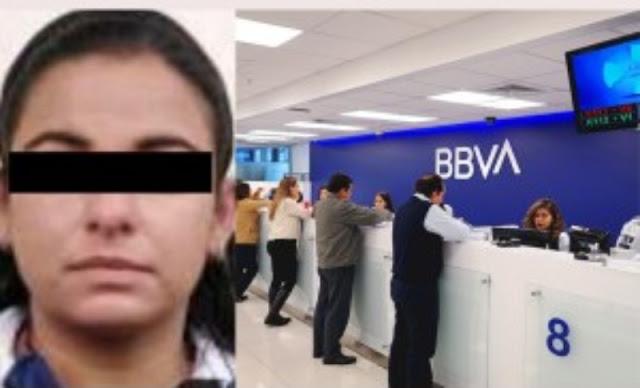 URGENTE: Acusan a cajera del BBVA del desfalco de ¡3 MILLONES DE PESOS!; dice que la obligaron