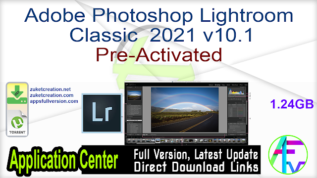 Adobe Photoshop Lightroom Classic 2021 v10.1 Pre-Activated