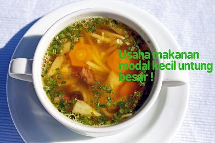 Contoh Usaha Makanan Modal Kecil, Untung Besar !